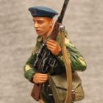 Оловянная миниатюра советский десантник