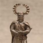 Оловянная миниатюра рыцарь тевтонского ордена