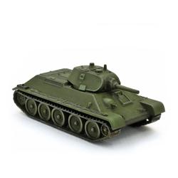 Модель танка Т-34-76 в масштабе 1:100.