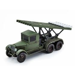 Модель советской реактивной установки БМ-13 Катюша;. Масштаб 1:100.