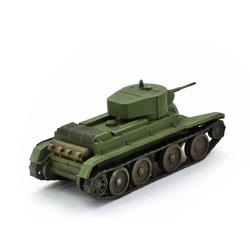 Модель танка БТ-5 в масштабе 1:100.