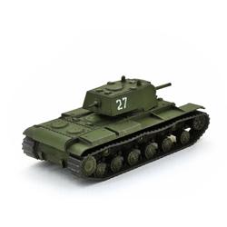 Модель танка КВ-1 в масштабе 1:100.