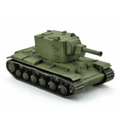 Модель танка КВ-2 в масштабе 1:100.