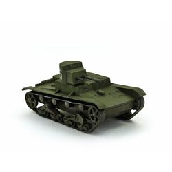 Модель танка ОТ-26 в масштабе 1:100.