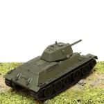 Модель танка Т-34. Масштаб 1:100. Звезда.