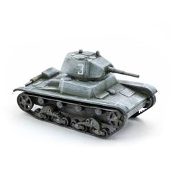 Модель Т-26 в масштабе 1:100.