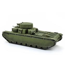Модель танка Т-35 в масштабе 1:100.