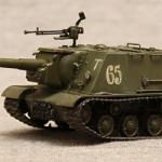 Масштабная модель советского истребителя танков ИСУ 152 Зверобой