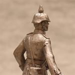 Оловянная миниатюра лейтенант германской армии в походной форме