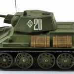Масштабная модель танка Т-34-76. Производитель: Звезда. Масштаб 1:72.
