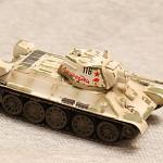 Масштабная модель танка Т-34. Easy Model 36269