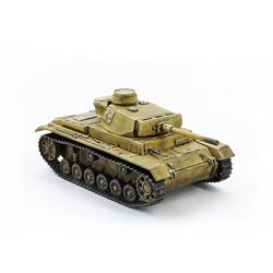 Модель немецкого танка Pz.Kpfw III. Масштаб 1:100. Звезда.