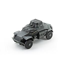 Модель немецкого бронеавтомобиля sd.kfz 222. Масштаб 1:100. Звезда.
