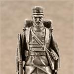 Оловянная миниатюра гренадер первого Баденского лейб-гренадерского полка 109