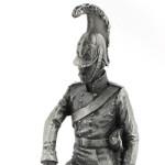 Оловянная миниатюра кирасир 6-го кирасирского полка Императора Николая I Русского