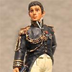 Оловянная миниатюра маршал Бертье.
