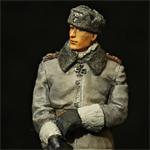 Миниатюра из смолы. Штурмбанфюрер дивизии СС «Лейбштандарте СС Адольф Гитлер» Макс Вюнше.