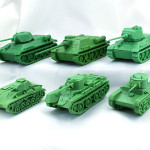 Советские модели техники П.О. МИР