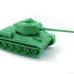 П.О. МИР. Масштабная модель Т-34-85.