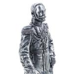 Оловянная миниатюра Николай II
