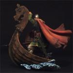 Оловянная миниатюра викинг Dakkar Raider. Автор Андрей Кольцов.