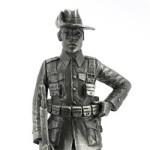 Оловянная миниатюра кавалерист колониальных войск, юго-западная Африка, 1905