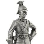 Оловянная миниатюра сержант полка личной охраны (Sergeant régiment gardes du corps).