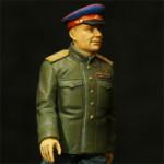 Набор пластмассовых миниатю Сталин и Ко. Производитель ICM. Власик.