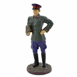 Оловянная миниатюра комиссар госбезопасности в повседневной форме