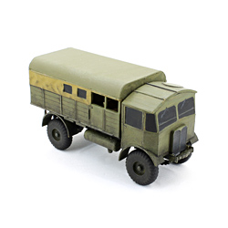 Модель британского грузовика Матадор. Масштаб 1:100. Звезда.