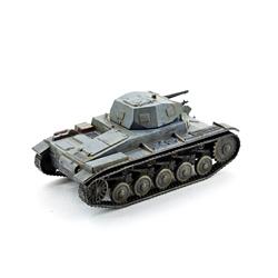 Модель немецкого танка pz.kpfw 2. Масштаб 1:100. Звезда.