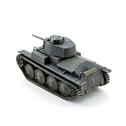 Модель немецкого танка pz. kpfw 38 (t). Масштаб 1:100. Звезда.