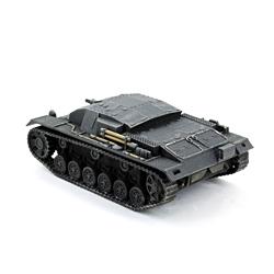 Модель немецкого штурмового орудия Stug III Ausf B.  Масштаб 1:100. Звезда.
