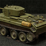 Модель танка БТ-7 в масштабе 1:35. Звезда.