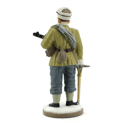 Оловянная миниатюра рядовой горнострелкового отряда ркка