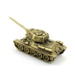 Модель танка Т-34-85 из латуни