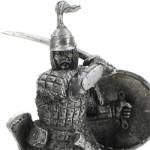 Оловянная миниатюра Золотоордынский воин