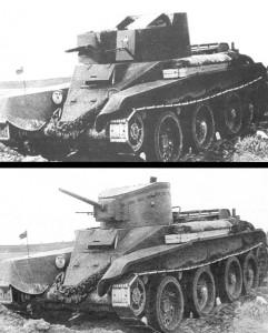 БТ-2 и БТ-4