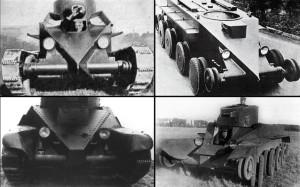 Различия БТ-2 и M1931