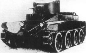 БТ-2 с пулеметным вооружением