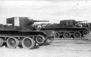 БТ-5 на параде в Минске. 1936 г.
