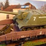 Масштабная модель ИСУ-152. Автор Steelmajor.