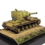 Масштабная модель танка КВ-2. Автор - Impala.