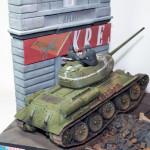 Масштабная модель танка Т-34-85. Автор OpersTT.