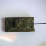 Масштабная модель танка Т-34-85. Автор - Димыч.