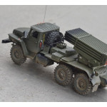 Масштабная модель БМ-21-1 Град. Автор - Владимир Шевченко