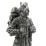 Оловянная миниатюра сержант дивизии Сан-Марко
