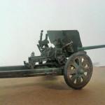 Масштабная модель пушки Ф-22. Автор AKovalenko.
