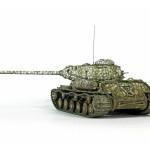 Масштабная модель ИС-2. Автор - Сергей Лысенко