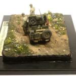 Масштабная модель Willys Armored. Автор - Максим Максимов
